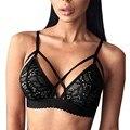 Sexy Women Lace Floral Bralette Bralet Bra Bustier Crop Tops Unpadded Lingerie M01