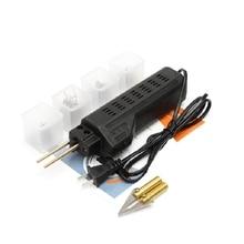 Us Plug,Car Bumper Repair Machine Hot Stapler Plastic, metal System Welding Fairing Auto Body Tool Welder Staple