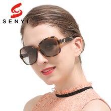 Gafas de Sol polarizadas Las Mujeres Diseñador de la Marca Anti-Reflectante Para Mujer Grandes Gafas de Sol de Las Señoras Del Abrigo de Conducción gafas de sol mujer 509