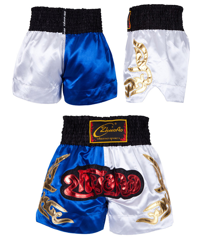 Sports & Entertainment Beautiful Mma Muay Thai Men Kids Bjj Boxeo Shorts Boy Kick Boxing Clothes Children Kickbox Grappling Fight Training Sanda Gym Trunks Pants