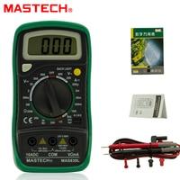 1pc Mastech MAS830L Mini Handheld LCD Display Digital Multimeter DC Current Tester Backlight Data Hold Continuity