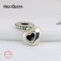 FirstQueen Tibetan Silver 2017 Club Charm Diamond Bead Fit Brand Bracelet Charmes Pour La Fabrication De