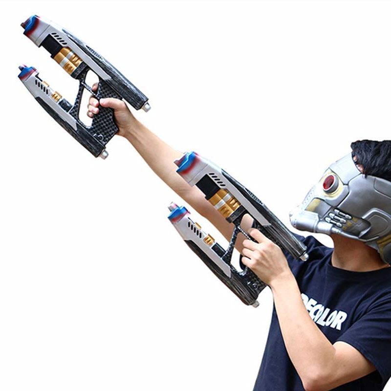 Yacn Avengers Infinity War Star Lord Guns Blaster Cosplay réplique gardiens de la galaxie Peter Quill arme à feu adulte Ha