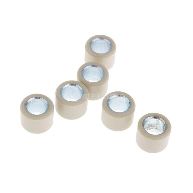 Variator Scooter Roller Weight 6.5g  Drive Wheel Assembly for GY6 50cc 80cc Engine Scooter Fits Most of Chinese Scooters 16x13mm