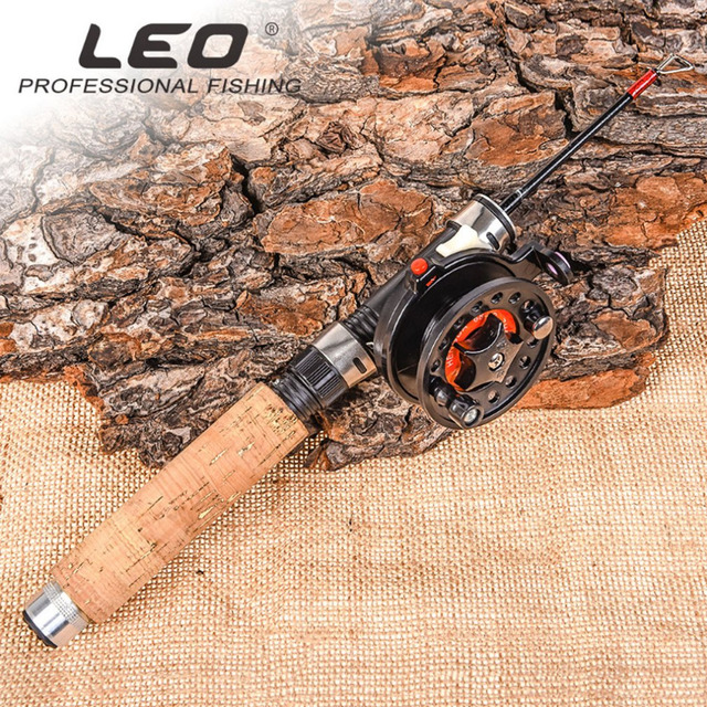 US $1 79 30% OFF|leo Spinning Fishing Rod and Reel Combos Portable  Telescopic Fishing Pole Spinning reels for Travel Saltwater Freshwater  Fishing-in