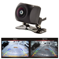 170 Degree Fisheye Lens 1280*720P Super Night Vision MCCD Car Rear View Reverse Parking Camera With Guide Line Waterproof