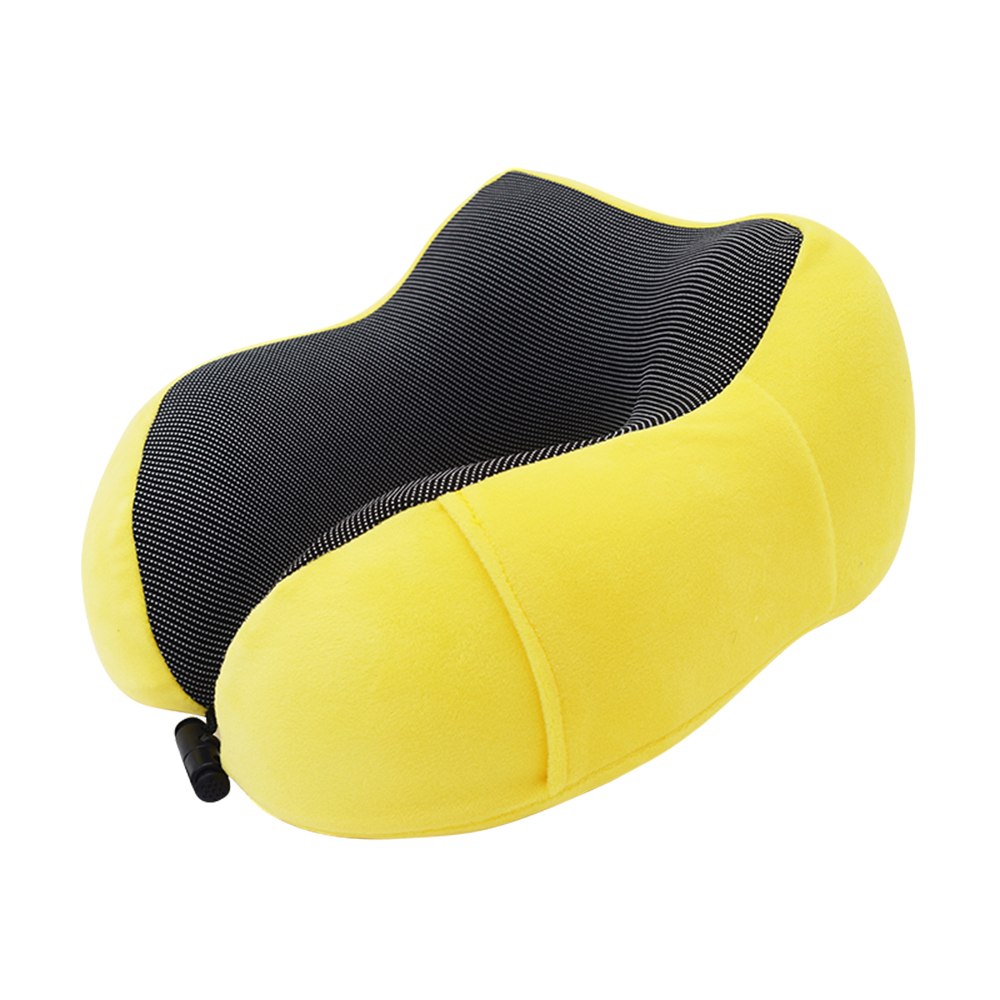 U Shape Travel Pillows for Airplane Inflatable Neck Pillow Travel Accessories 6Colors Comfortable Pillows for Sleep Home Textile image