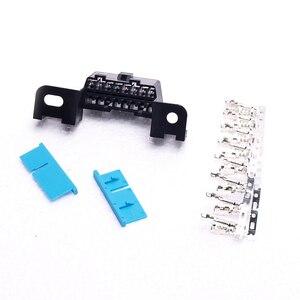 Image 2 - Connecteur dangle 16 broches, femelle outils de Diagnostic 16 broches, connecteur Obd2, prises de fils femelles, adaptateur Obd Ii