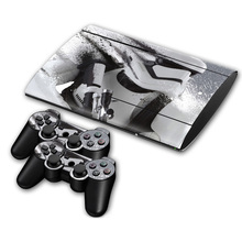 Venda quente Do Jogo Do console e controladores Crânio Adesivo de Pele decalque do vinil para o PS3 Super Slim 4000 adesivos de pele