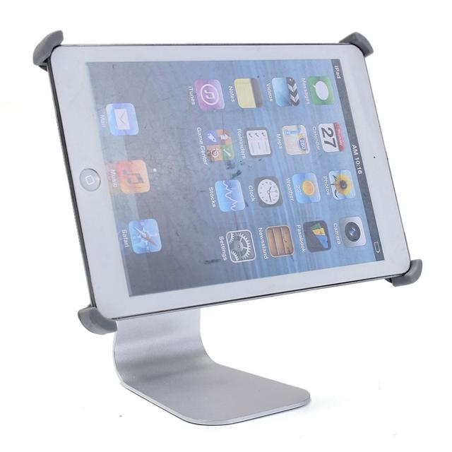 Ajustável x-forma de alumínio 360 rotating tablet montar estande titular para ipad mini 1 2 3 suporte de alta qualidade suporte para ipad mini