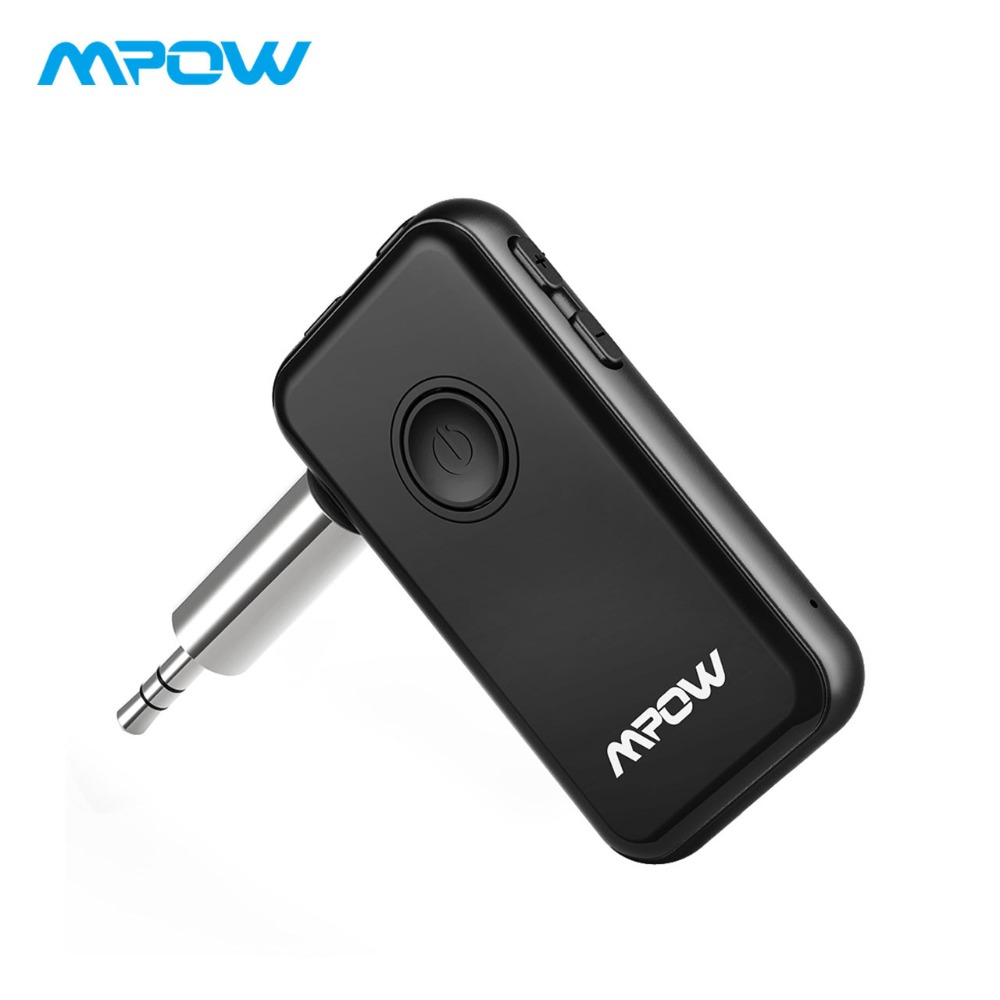 Mpow 045A 2-in-1 Bluetooth Receiver Transmitter Wireless Adapter AUX TV Bluetooth Transmitter Stereo Music Adapter For Car/Home bti 010 2 in 1 bluetooth transmitter