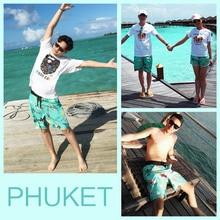 e39a0b4a73 Summer Men Women Kids Beach Shorts Family Surf Swim Wear Quick Dry ...
