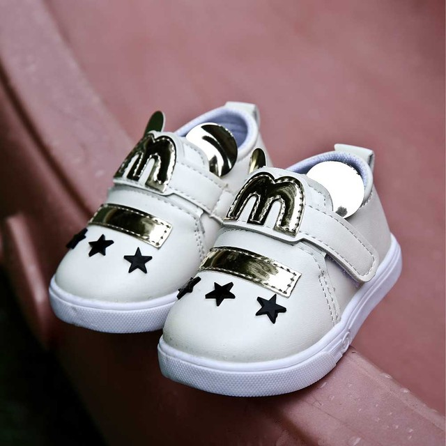 baby first walkers bling shoes infant shoes boy slippers cute little bunny toddler shoes pu leather shoes low cut footwear CS185