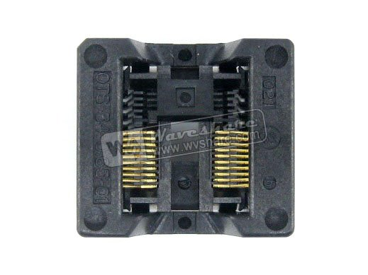 цена SSOP20 TSSOP20 OTS-20(34)-0.65-01 Enplas IC Test Burn-in Socket Programming Adapter 0.65mm Pitch 5.3mm Width