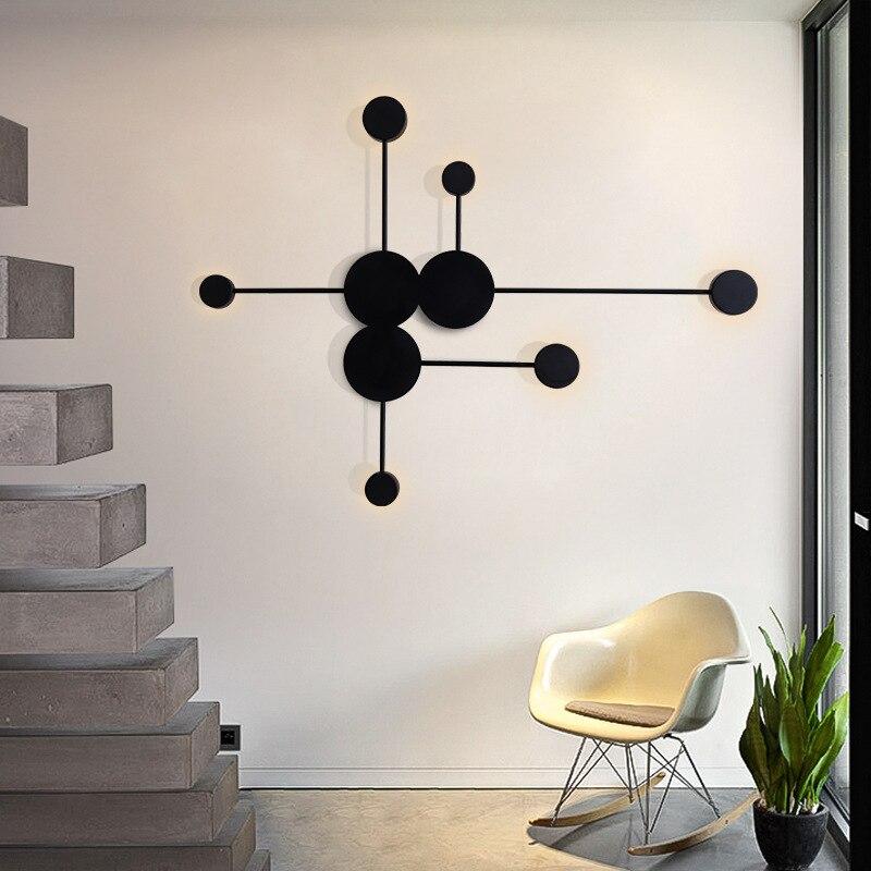 pos moderna lampada parede simples led 02