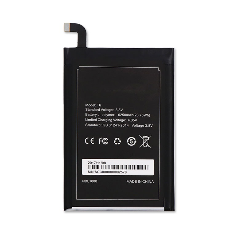 Homtom HT6 Battery 6250mAh New Replacement accessory accumulators For Homtom HT6 & DOOGEE T6 Cell PhoneHomtom HT6 Battery 6250mAh New Replacement accessory accumulators For Homtom HT6 & DOOGEE T6 Cell Phone