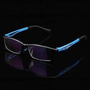 Toptical Resep Kacamata Bingkai tr90 ultra-ringan Kacamata Pria Kacamata Fashion Laki-laki Kacamata Optik
