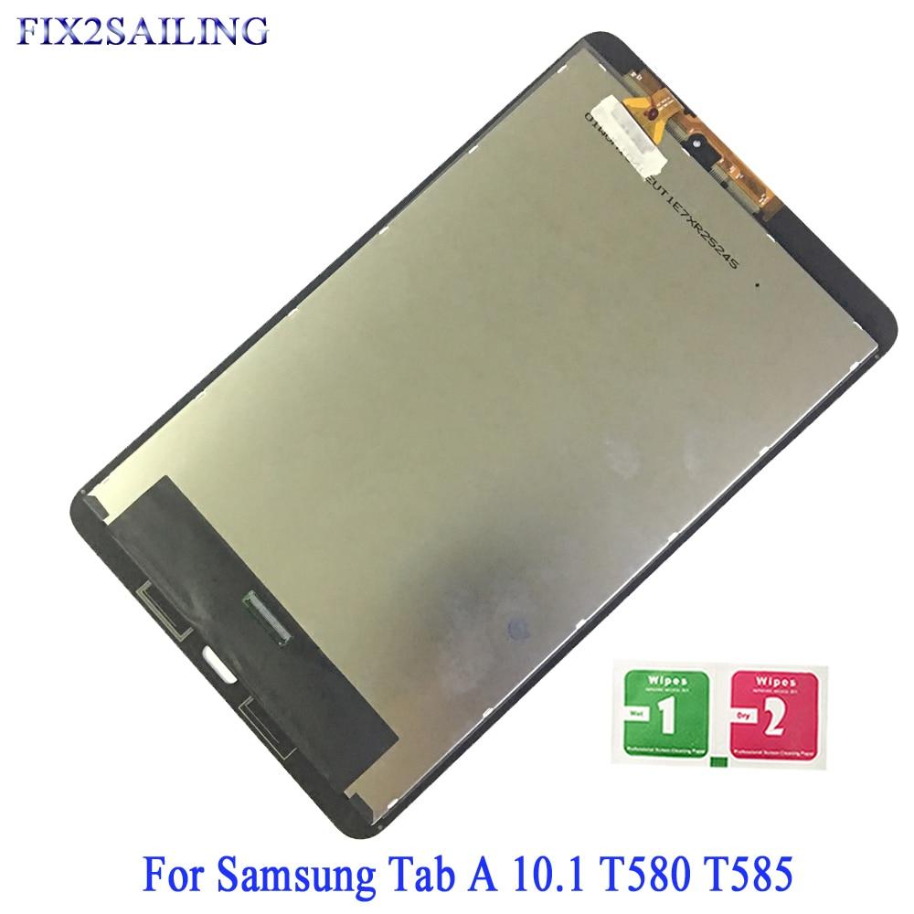 Pour Samsung Galaxy Tab A SM-T580 SM-T585 T580 LCD écran tactile numériseur capteur pour Samsung T580 T585 LCD écran tactile