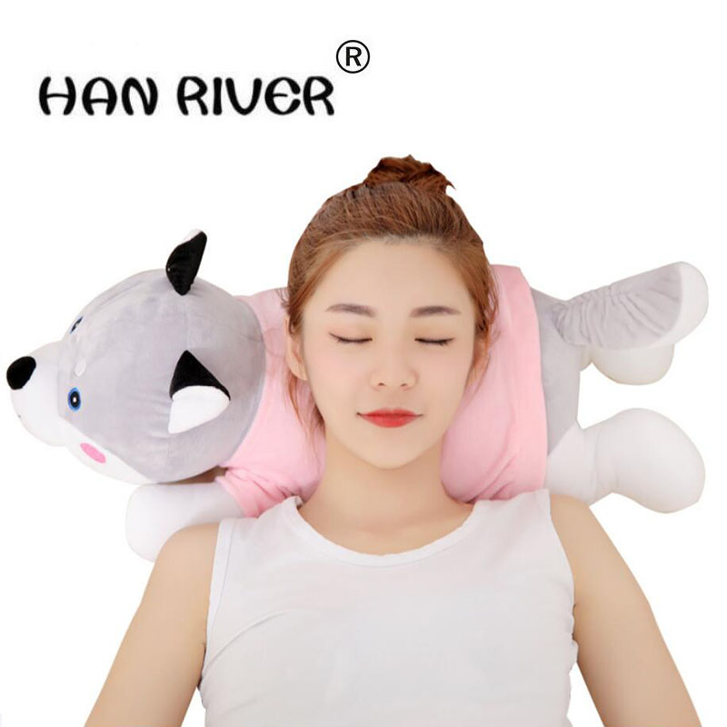 New home massage instrument lovable puppy furry neck massager neck kneading massage body gift