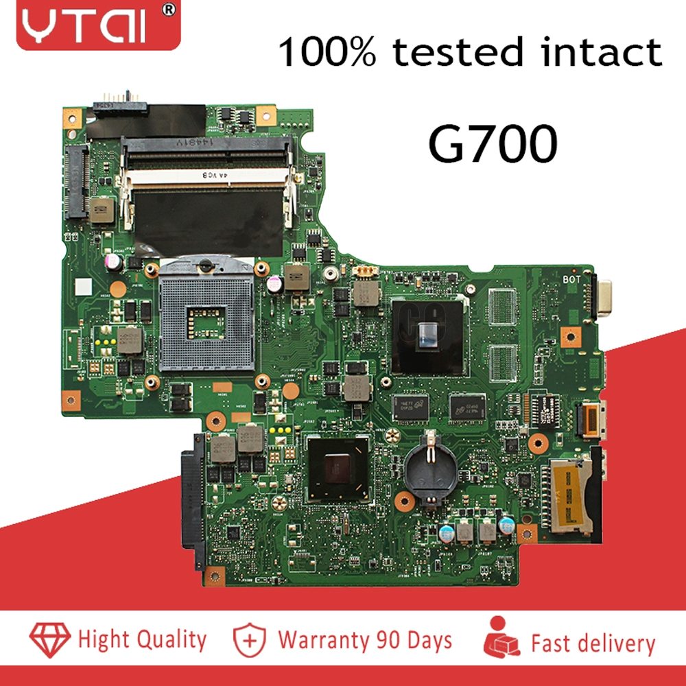 G700  motherboard  REV:2.1 11S102500433 suitable for lenovo G700 laptop motherboard  100% tested intact Free shippingG700  motherboard  REV:2.1 11S102500433 suitable for lenovo G700 laptop motherboard  100% tested intact Free shipping