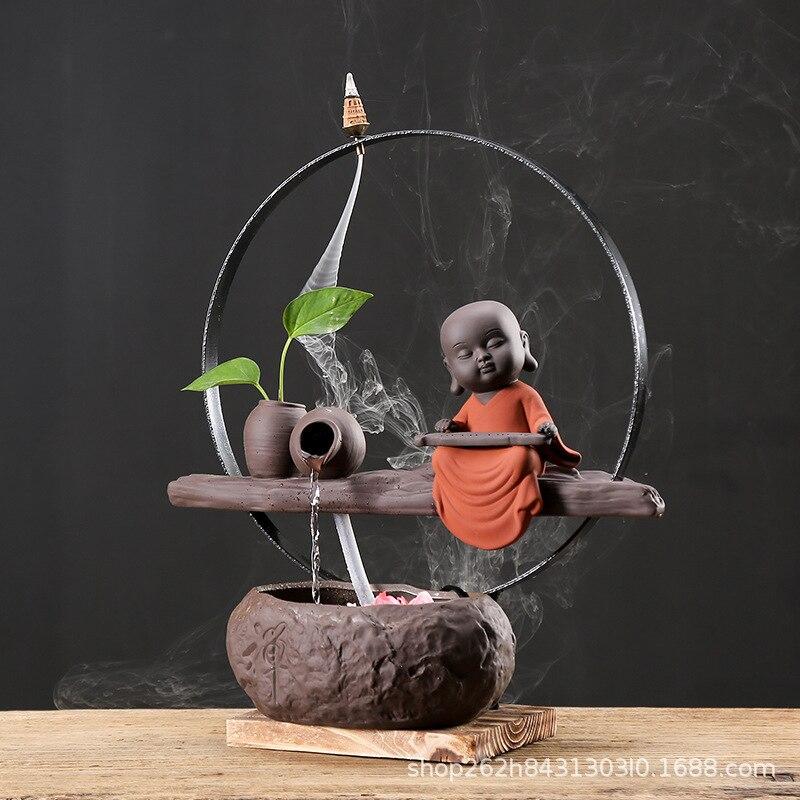 2019 распродажа держатель для благовоний керамический фонтан водонагреватель с увлажнителем украшения бонсай можно оптом Рыбная культура р