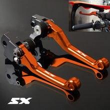 Рычаги сцепления 65SX/85SX/105SX/125SX/144SX/150SX CNC для мотоцикла, внедорожника, мотокросса, поворотные рычаги тормоза 65/85/105/125/144/150 SX