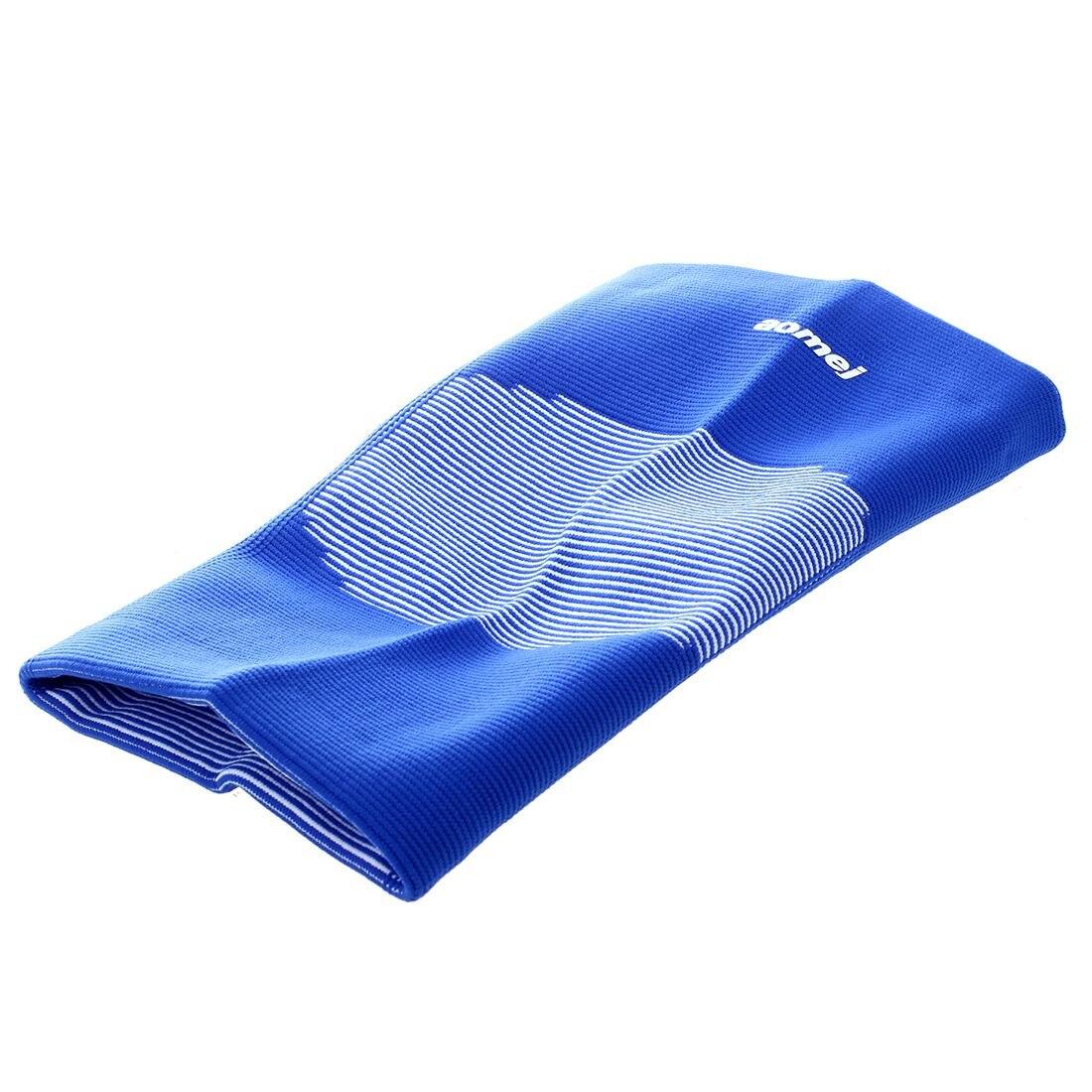 MOOL White Stripes Blue Elastic Knee Sleeve Support Brace