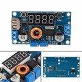 5A 75W DC-DC Adjustable Step-down Module Digital Control Step Down Modules with Voltmeter Ammeter