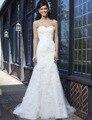 BacklakeGirls Простой Сшитое Тюль Рукавов Аппликации Суд Поезд Плюс Размер Свадебные Платья 2017 Для Невесты