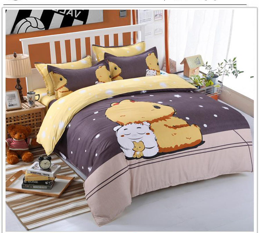purple king comforter