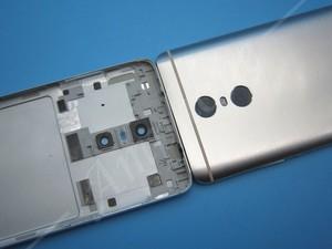 Image 4 - Repuestos profesionales para Redmi, carcasa trasera para batería, botones laterales, lente Flash de cámara para Xiaomi Redmi pro