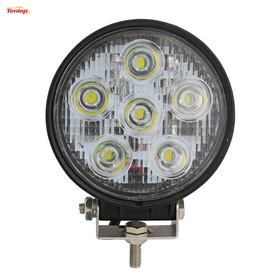 5 Inch Round 60W LED Work Light For Offroad Wrangler 4*4 SUV ATV Tractor Truck