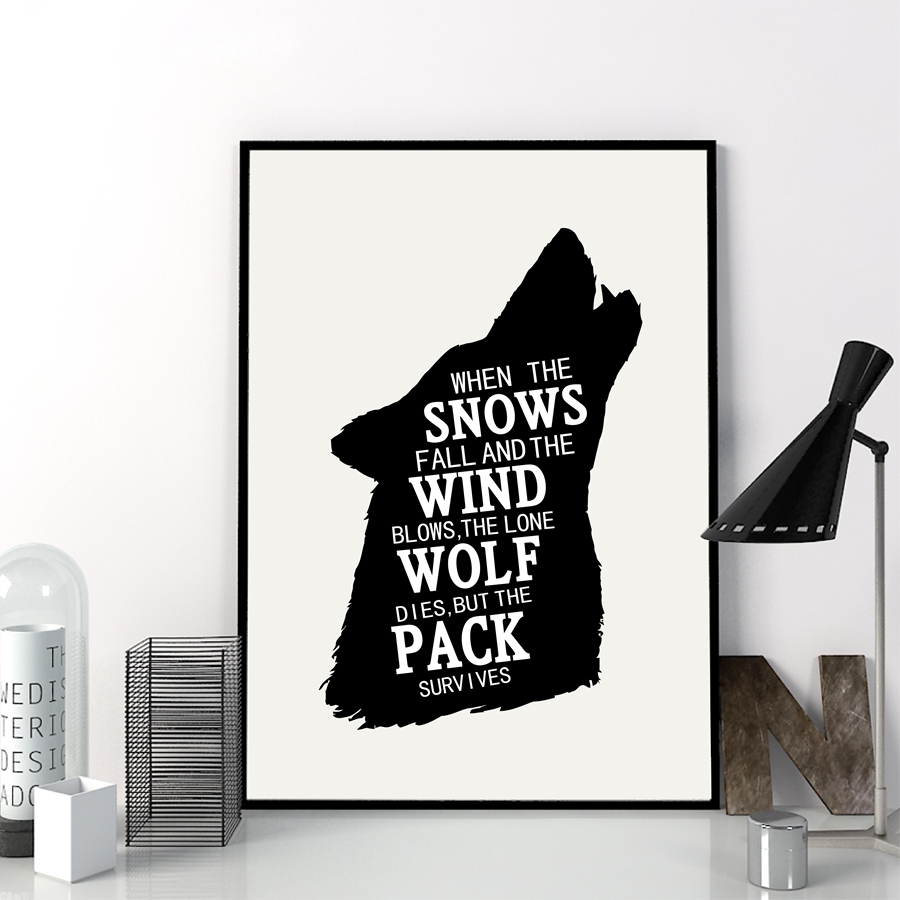 Game Of Thrones Poster Wall Art Decor Canvas Painting