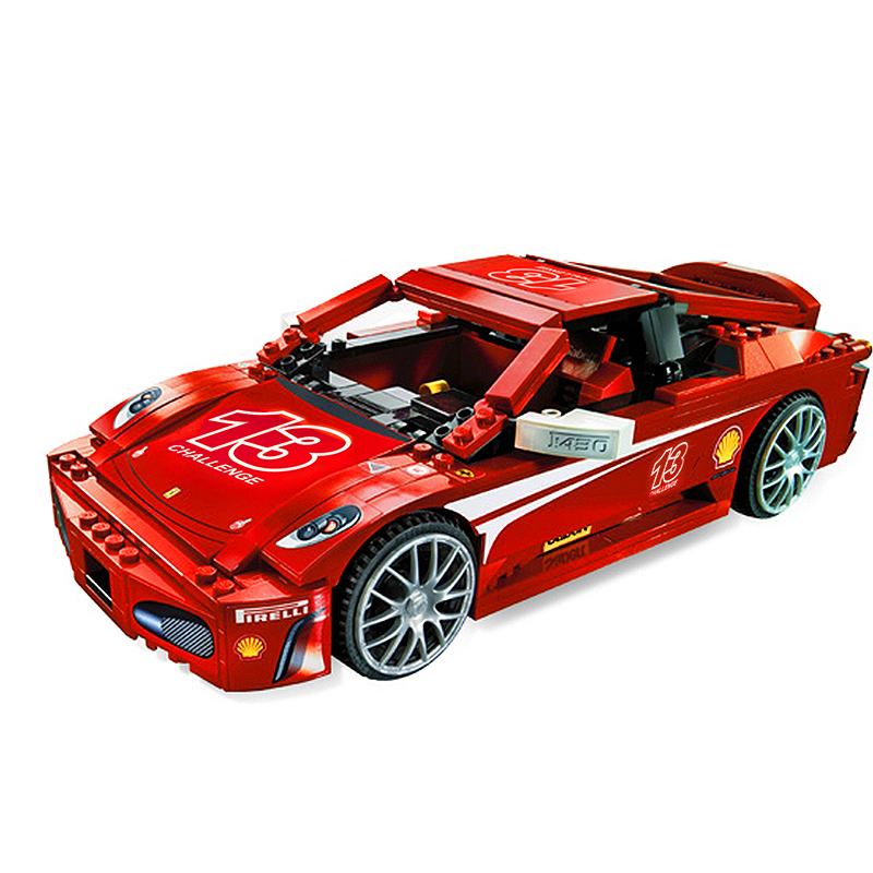 Decool 8613 Challenge 1:17 building bricks Toys for children Game Model Car Gift Compatible with Lepin Bela 8143 lepin 22001 imperial flagship building bricks blocks toys for children boys game model car gift compatible with bela decool10210