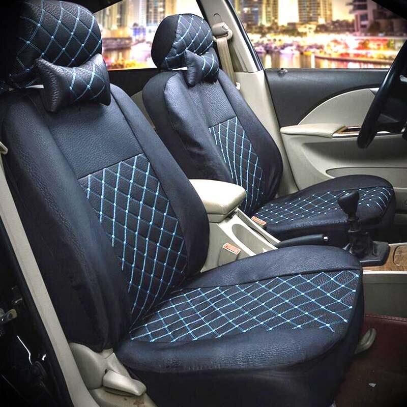 Housses de siège Auto de luxe pour siège Auto pour bmw e46 kia peugeot 308 geely lada vw golf 5 7 honda civic toyota corolla