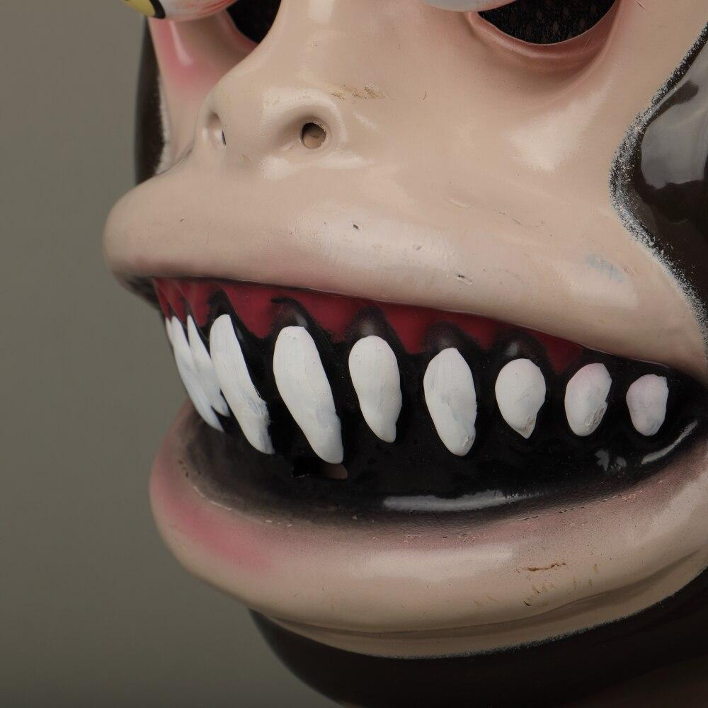 Animal Masks Animal Themed Costumes Monkey Orangutan Mask Cosplay Prop Halloween Accessories Men Women Face Mask Full Head (17)