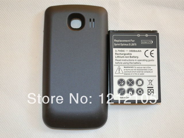 ls670 phone extended battery black cover for lg ls670 sprint rh aliexpress com LG LS670 Cell Phones LG LS670 Manual