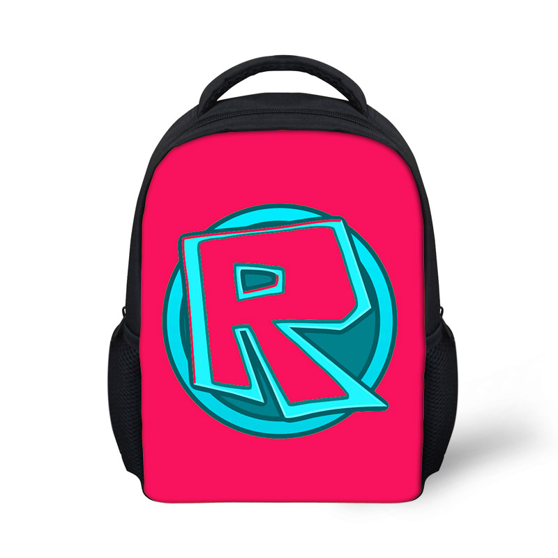 Color Toys Roblox Printing Backpack Kids Boys Girls Student School Bag  satchel Cartoon Backpack Mini Roblox Bags School Girls-in Backpacks from  Luggage ... 7f2580674cbdf