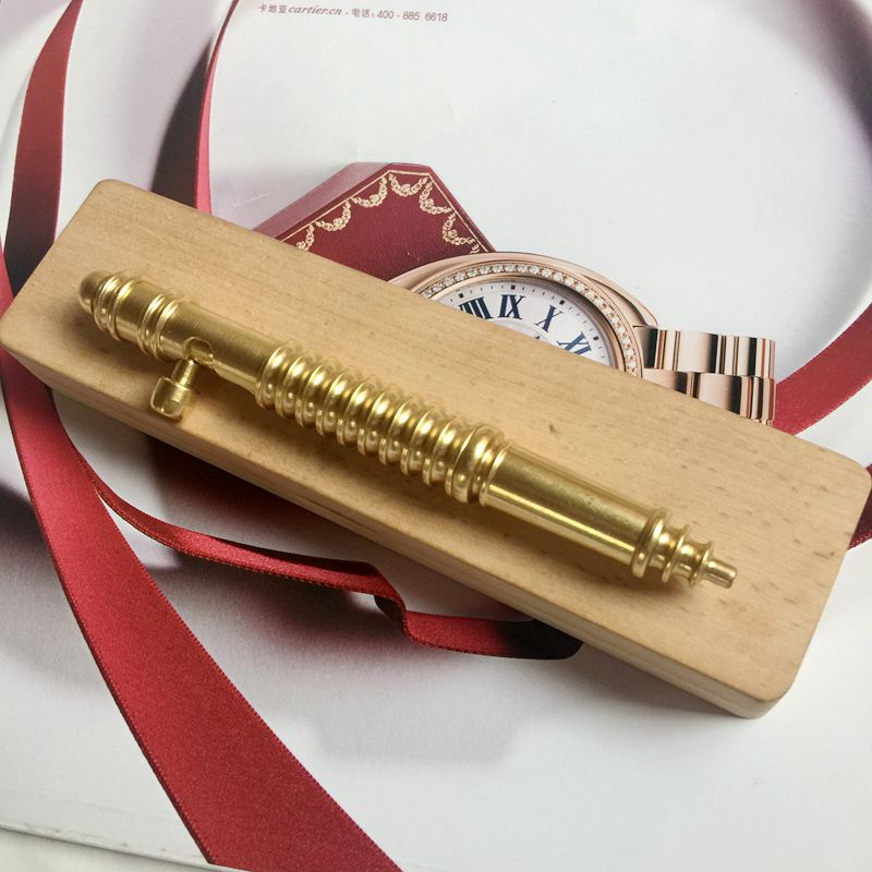 New Handmade Brass Gel Pen M1914 Gun Pen Christmas Birthday Gift Pen deluxe gel pen birthday gift pen page 6