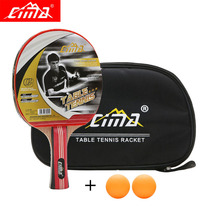 CIMA 3stars Table tennis rackets with bag cover Offensive Ddouble Pimples-in rubber Sports PingPong Beginner table tennis racket