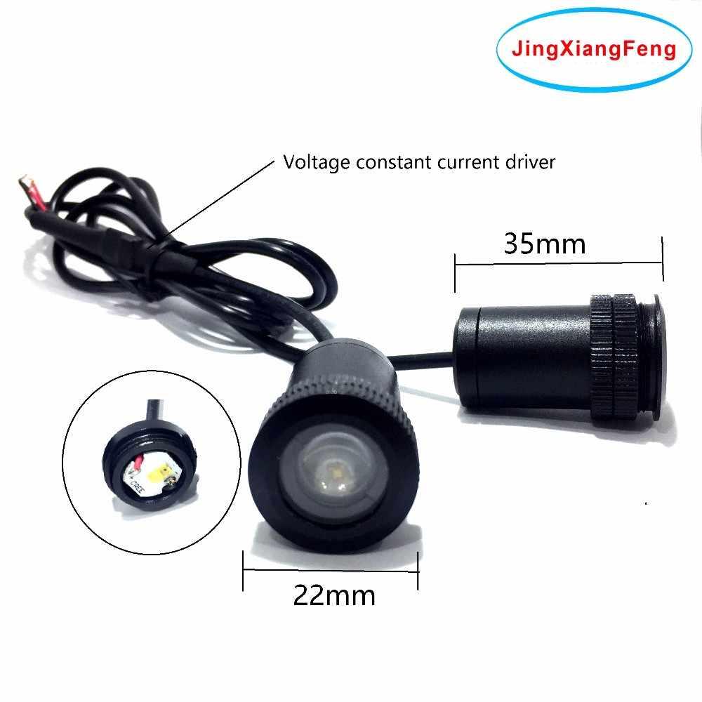 JingXiangFeng чехол для ГАЗ 12 В Ghost Shadow Light светодиодный автомобильный логотип проектор декоративные аксессуары Добро пожаловать Дверь 3D лазер для ford
