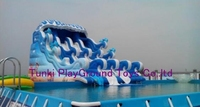 Giant Water Park Play Equipment Swmming Pool Slide Playground