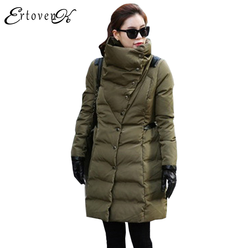 Winter Cotton Coats 2017Women Clothing Plus size Long-sleeved Jacket Thickening Keep warm Top Slim Outerwear abrigos mujerLH089 plus size women cotton coats jacket winter 2017 new long sleeve top slim fashion clothing korean outerwear abrigos mujer lh013