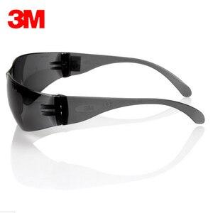 Image 4 - 3m 11330 السلامة Potective رمادي نظارات نظارات مكافحة الأشعة فوق البنفسجية نظارات مكافحة الضباب صدمة برهان العمل عيون نظارات حفظ نظر