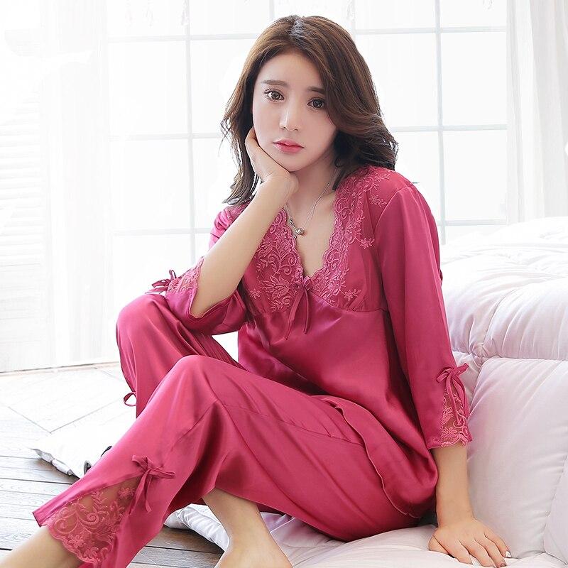 Summer Half Sleeve Pajamas Set Women Pajamas Sets Two Pieces Set Pyjamas Women Pijama Nightwear For Women Sleepwear Set