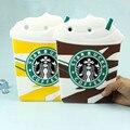 3D Кремния сопротивление падение starbuck чашка кофе планшетный ПК для Apple iPad mini 3 2 1 в 7.9 дюймов защитная крышка случае