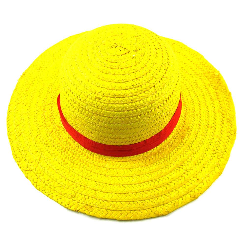 Brdwn унисекс цельный Косплей Обезьяна D соломенная шляпа Луффи Кепка