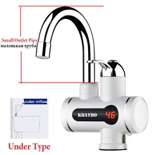 3000W Tankless Water Heater Tap,Kitchen Faucet Instant Water Water Heaters Faucet 3 Seconds Instantaneous Heating