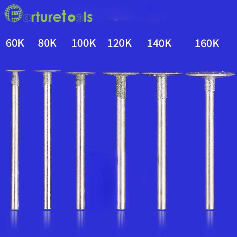 50vnt deimantiniu būdu tvirtinamas dremel rotacinių įrankių - Abrazyviniai įrankiai - Nuotrauka 6