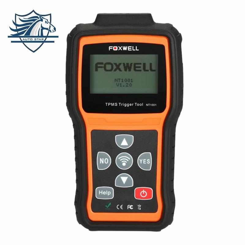 Top Sale Original Foxwell NT1001 TPMS Trigger Tool Auto Diagnostic Scanner NT1001 TPMS Tool TPM Sensor Decoder or Activator